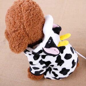 ☆送料700円☆ドッグウェア ペット服 犬服 牛柄 コスプレ ドッグウェア コスチューム