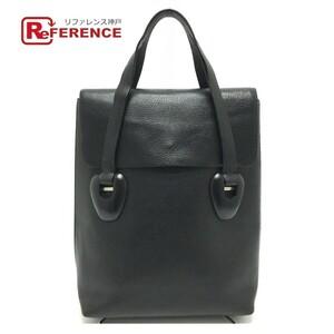 GUCCI グッチ 002・2123・0452 オールドグッチ ビジネスバッグ トートバッグ ハンドバッグ 鞄 手提げ レザー レディース ブラック
