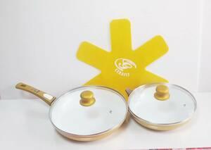 フライパン セラフィット 24センチ 28センチ 専用ガラス蓋付き 専用ハンドル付き セット 未使用 送料無料 匿名配送 翌日発送 ⑮