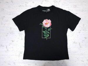 【送料無料】H&M エイチアンドエム × SHAWN MENDES ショーンメンデス コラボ 半袖Tシャツ レディース コットン100% XS 黒