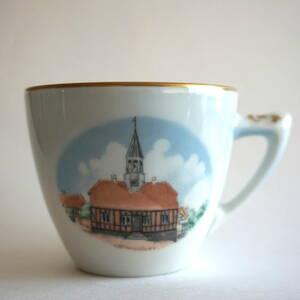 【管理P4】即決価格 ビングオーグレンダール デンマーク エーベルトフト 旧市庁舎 コーヒーカップ カップ(検 ロイヤルコペンハーゲン