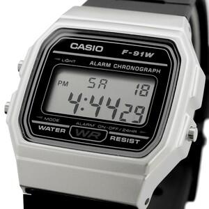 送料無料 腕時計 CASIO カシオ 海外モデル F-91WM-7A チープカシオ スタンダード デジタル ユニセックス