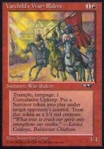 014044-003 AL/ALL Varchild's War-Riders 英1枚 ▼