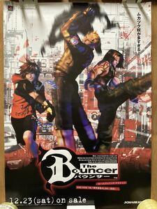 バウンサー B2ポスター 販促用 非売品 当時物 The Bouncer スクウェア PS ゲーム ポスター