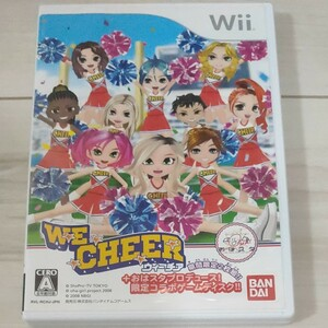 Wii チア Wiiソフト CHEER