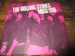 rolling stones / miss you (USシングル送料込み!!)