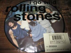 rolling stones / i go wild (限定ピクチャー送料込み!!)