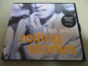 rolling stones / i go wild (ツアー記念限定盤ポストカード付送料込み!!)