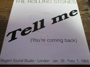 rolling stones / tell me (RARE TSP盤送料込み!!)