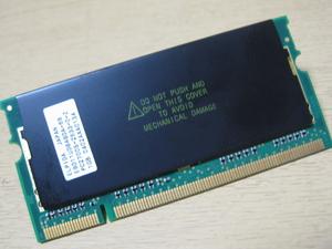 ** Junk PC parts ** ELPIDA DDR333 PC2700 256MB 200pin * both sides chip installing * exhibition hour operation verification goods -MD15 ThinkPad IBM Lenovo