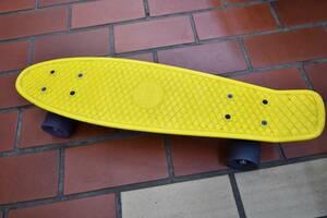 penny ペニー スケートボード スケボー 22インチ 57cm 黄色 イエロー