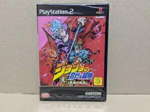 PS2 ジョジョの奇妙な冒険 黄金の旋風 【新品未開封】