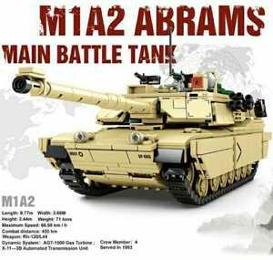 ☆最安値☆ LEGO レゴ 互換 戦車 M1A2 エイブラムス アーミー 車 軍隊 1052ピース
