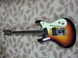 モズライトエレキギターmosrite of California made in USA V-63 REISSUE Crafted by FILLMORE