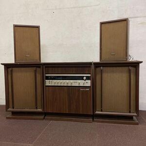 ジャンク TOSHIBA 家具調ステレオ SP-6000FX TSS-45B BOSTON6000 4CHANNEL STEREO 格安売り切りスタート◎