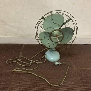 扇風機 MITSUBISHI 三菱 昭和レトロ アンティーク レトロ扇風機 三枚 羽根 格安売り切りスタート #