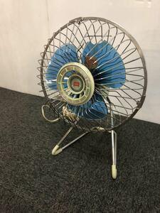 $ 昭和レトロ 小型扇風機 卓上扇風機 アンティーク ヴィンテージ 動作確認済 現状品 格安売り切りスタート ま