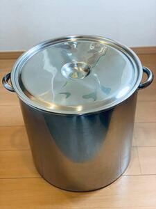 45センチ ステンレス 寸胴鍋 蓋付き