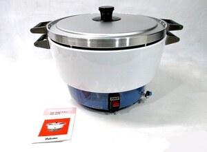 未使用 パロマ PR-6号AK ガス炊飯器 3升 LPガス用 業務用 (667)