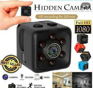 超小型カメラ ビデオカメラ 暗視機能 赤外線撮影 動体検知 防犯カメラ 監視カメラ 検)SQ11 SQ29 SQ13