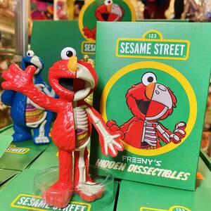 Sesame Street Freeny's Hidden Dissectibles セサミストリート 半分骨 フィギュア エルモ トイ おもちゃ mighty jaxx