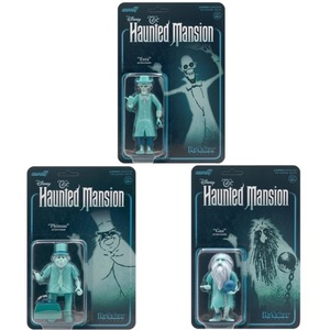 Disney Haunted Mansion リアクションフィギュア 3種セット ReAction Figures ホーンテッドマンション ディズニー disney フィギュア
