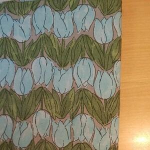 モーメント オックス生地 チューリップ 生地巾約108cm×約50cm