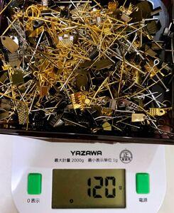 アクセサリーパーツ 材料 ハンドメイド DIY 手作り 約120g入り