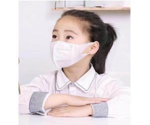即日発送 子供用 Sサイズ 高品質 やわらか不織布マスク 3D立体型 10枚入り 白 小さめ 3層フィルタ構造 使い捨てマスク サージカルマスク