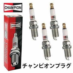 9007 ルーチェ LA4MV CHAMPION チャンピオン イリジウム プラグ 4本 マツダ 141018*110