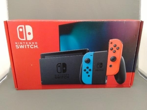 スレあり Nintendo Switch Joy-Con(L) ネオンブルー/(R) ネオンレッド(HADSKABAA)(バッテリー拡張モデル)
