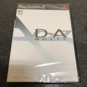 【新品、未開封】ディーエー:ホワイト D→A WHITE PS2 【1581】