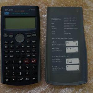 ★動作美品! CASIO 関数電卓 fx-82ES カシオ SCIENTIFIC CALCULATOR カシオ計算機