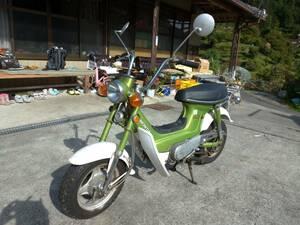 即決 徳島 シャリイ シャリー 初期 6V バラして発送1万円 陸送可能 ダックス モンキー