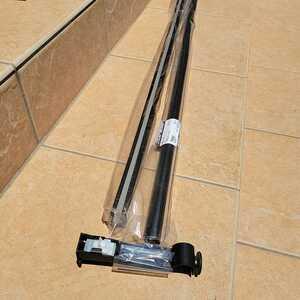 【箱汚れあり】カーテンレール クラスト19 Cセット 1.2m TOSO ブラック ダブル 二重吊り用  アンティーク モダン リングランナー