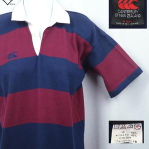 《郵送無料》■Ijinko◆カンタベリーCANTERBURY ニュージーランド製 S サイズ半袖ラガーシャツ