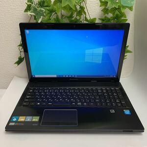 レノボLenovo G500 中古ノートパソコン/インテル Celeron-1.90Ghz/Windows10/メモリー4GB/HDD-500GB/office 2019 pro/WiFi/WEBカメラ