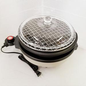 Bana8◆状態良◆杉山金属 遠赤 テーブルグリル KS-2250 ホットプレート 焼肉 鍋 焼き網 蓋付き 動作OK