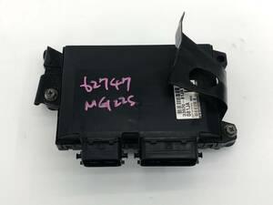 _b62747 ニッサン モコ E DBA-MG22S エンジンコンピューター メイン ECU 33920-81JA1 スズキ MRワゴン MF22S