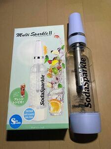 SodaSparkle マルチスパークルII スターターキット イージーモデル MS2-1-B パールブルー