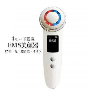 美顔器 LED美顔器 多機能 EMS 超音波 光エステ イオン導入 振動エステ###美顔器8814###