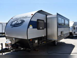 * immediately delivery! new car 2021 year forest li bar Cherokee 18TO silver ② sliding out 23,2F camping trailer
