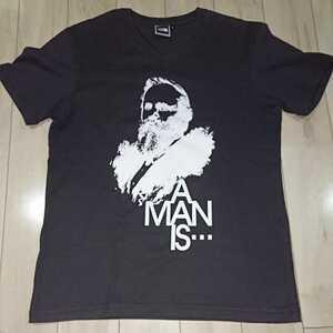 THE NORTH FACE ノースフェイス Tシャツ メンズ Sサイズ Vネック