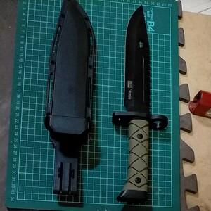 コンバット ナイフ ステンレススチール鋼