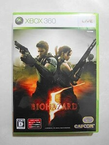 送料無料 即決 マイクロソフト XBOX 360 バイオハザード5 アクション Resident evil 5 カプコン 人気 シリーズ レトロ ゲーム ソフト Y159
