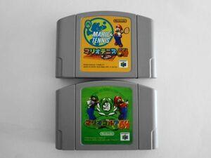 送料無料 即決 任天堂 ニンテンドー64 N64 マリオ ゴルフ テニス 64 セット スポーツ シリーズ レトロ ゲーム カセット ソフト Y31