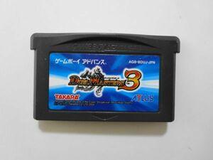 送料無料 即決 任天堂 ニンテンドー ゲームボーイアドバンス GBA デュエルマスターズ3 タカラ アトラス レトロ ゲーム ソフト Y99