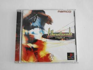 送料無料 即決 ケース割れあり ソニー sony プレイステーション PS 1 プレステ リベログランデ サッカー ナムコ レトロ ゲーム ソフト Y254
