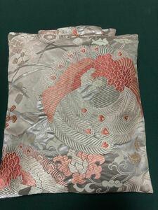 ハンドメイド 絹帯リメイク お財布布団