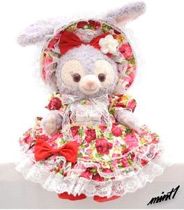 【キュートな薔薇のドレス】 ステラ・ルー コスチューム ローズ ドレス 赤 花 ディズニー Disney プレゼント